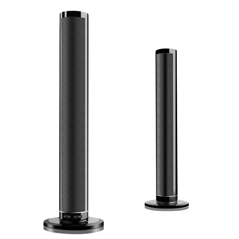 LP-1807 Bluetooth Speaker HiFi Stereo Bass Soundbar Aux-in U Disk MP3 Play Split Speaker Subwoofer