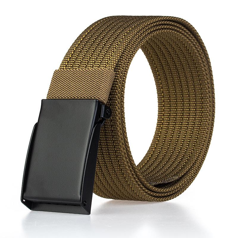 120cm AWMN PH13-2 3.8cm Military Tactical Belt Quick Adjust Buckle Nylon Leisure Belt for Men Women