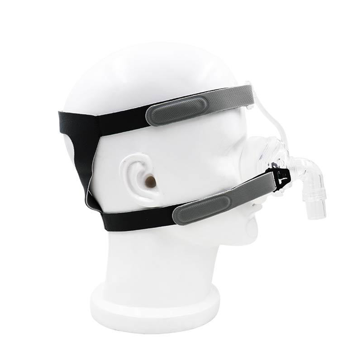 Nasal Mask NM2 For CPAP Masks Interface Sleep Snore Strap w/ Headgear