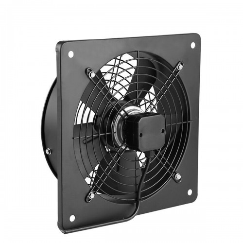 220V Metal Industrial Ventilation Extractor Axial Exhaust Commercial Air Blower Fan
