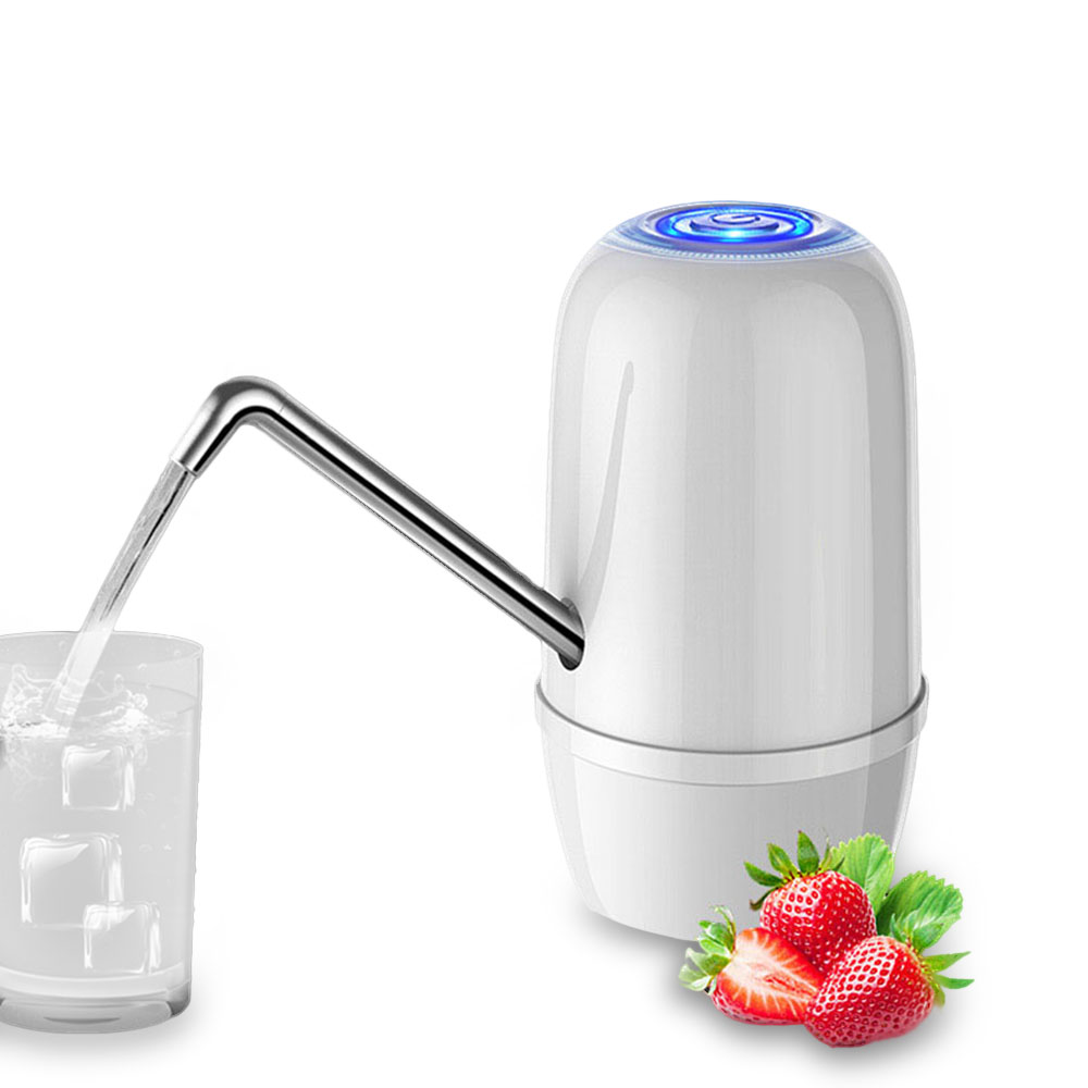 KCASA USB Charging Electric Automatic Bottle Drinking Water Pump Gallon Bottled Water Dispenser Pump