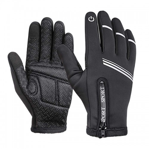 WHEEL UP Touch Screen Full-finger Cycling Bicycle Gloves Windproof Thermal Bike Xiaomi Motorcycle