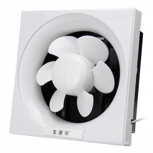 Powerful Low Noise Ventilation Extractor Exhaust Fan Shutter for Bathroo