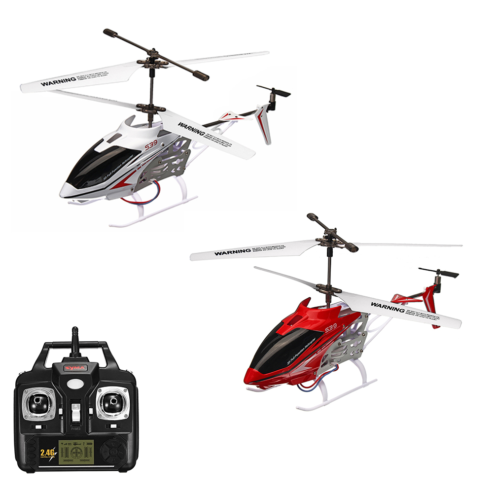 SYMA S39 2.4G 3CH Remote Control Mini RC Helicopter With