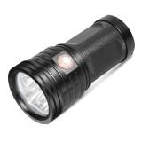 XANES XM11 T6 11x LEDs 3 Modes 2500Lumens USB Rechargeable LED Flashlight & Power Bank