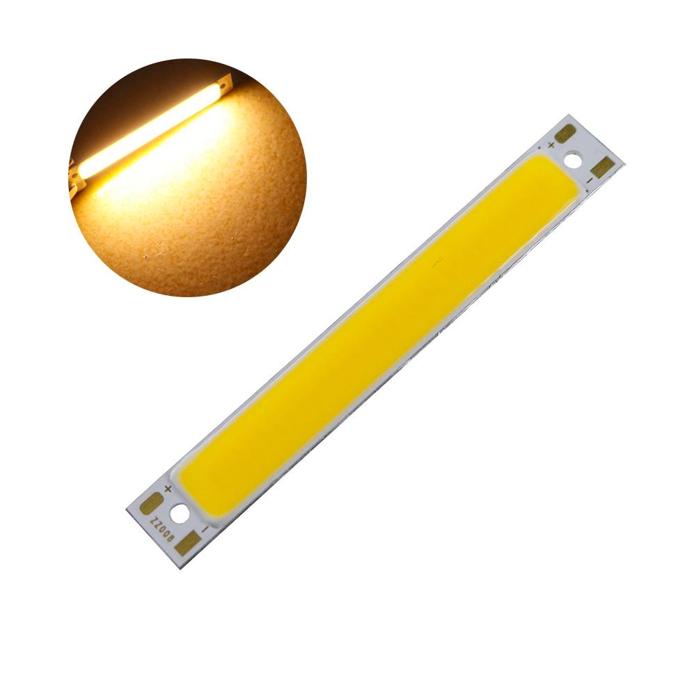 5pcs 1W 3W LED COB Lamp Chip Module Bar Strip 60x8mm for DIY Light Source DC2-2.6V / DC3-3.7V