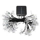 Solar 20/30/50 LED Deer Fairy String Light Christmas Party Garden Outdoor Decor Lamp