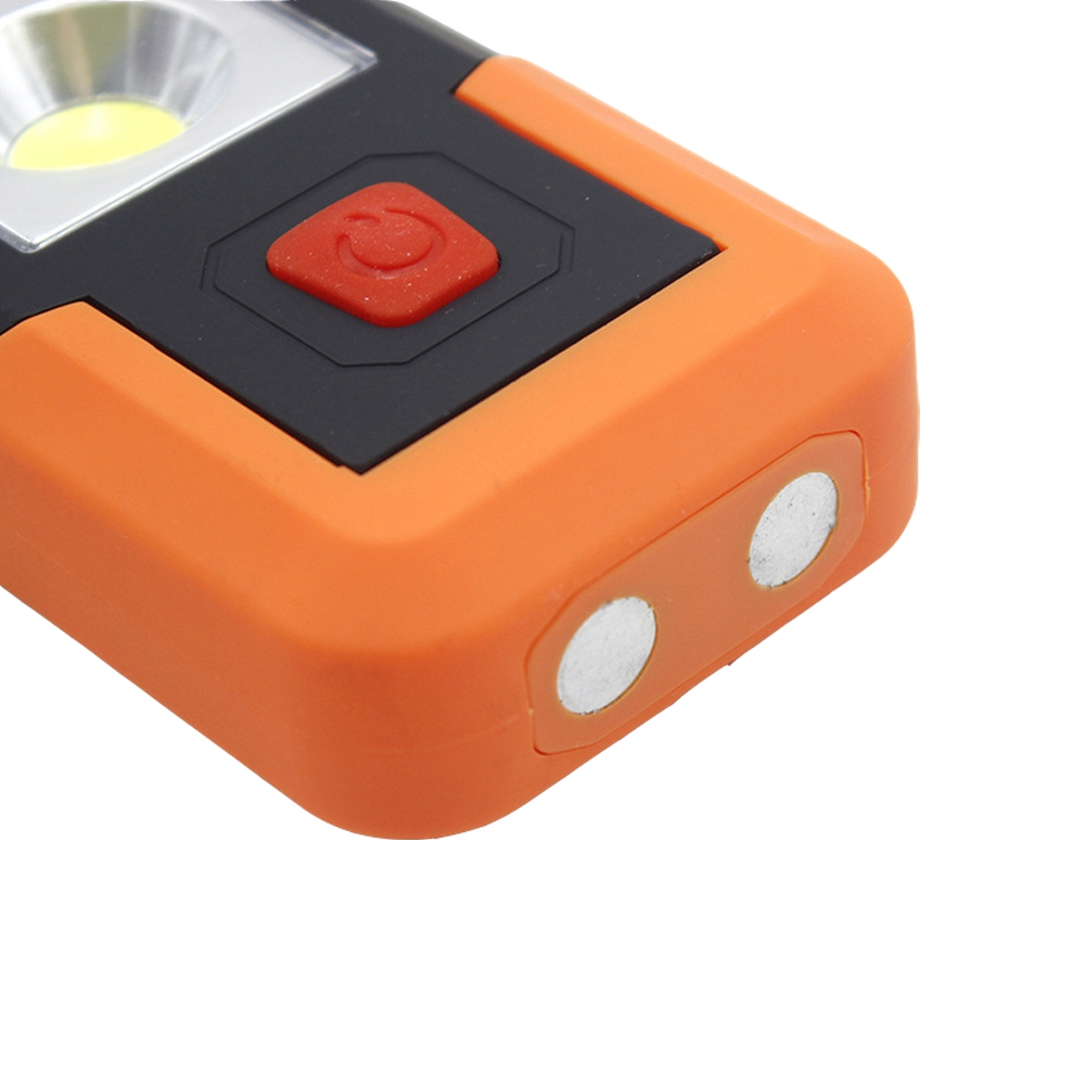 3W Portable Magnetic COB LED Work Light Battery Powered Camping Tent Emergency Lantern With Hook