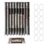 180cm x 180cm Rustic wooden Barn Door Bathroom Waterproof Shower Curtain Non-slip Bathroom Mat