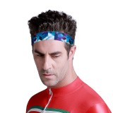 KALOAD Sport Headband Men Women Head Sweat Band Run Yoga Fitness Exercise Silicone Elastic Sweatband