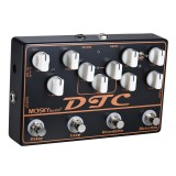 MOSKY DTC 4 in 1 Electric Guitar Effects Pedal with Distortion Overdrive Loop Delay