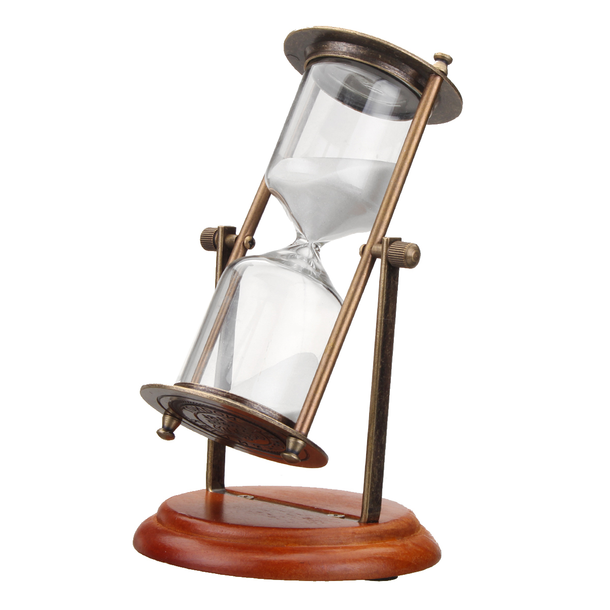 15minutes Rotating Sand Hourglass Sandglass Sand Timer Clock Gift Ornament