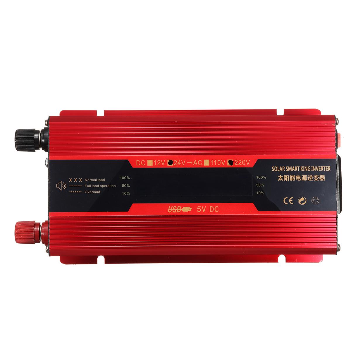 Mocei 3000W/4000W/5000W Solar Power Inverter DC12/24V to AC110V/220V Sine Wave Convert 12V-220V 4000w Car Electronics Accessories Car Electronics & Accessories