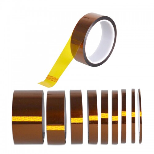 High Temperature Resistant Tape Polyimide Mobile Film Adhesive Tape for BGA SMT 1cm 3cm 5cm Width