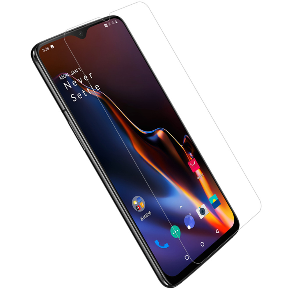 NILLKIN Anti-scratch High Definition Clear Screen Protector + Lens Protective Film for OnePlus 6T