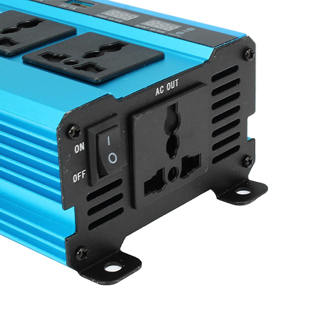 Solar Power Inverter 5000W Peak DC 12/24/48V To AC 220V Modified Sine Wave Converter