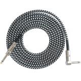 FLGW-24 3m Guitar Cable 6.5mm Jack Audio Cable for Guitar Mixer Amplifier Bass