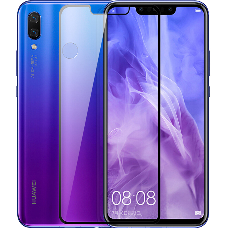 Bakeey Full Coverage Anti-explosion 9H Tempered Glass Screen Protector for HUAWEI Nova 3 6.3 inch
