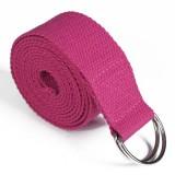 KALOAD 2.5m Yoga Stretch Strap Fitness Exercise Yoga Strap Waist Leg Resistance Bands D-Ring Belt