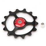 14T Tooth Bike Transmission CNC Aluminum Alloy Outdoor Bearing Tension Wheel Wheel Rear Bike Bicycle Cycling
