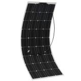 18V 100W Monocrystalline Flexible ETFE Solar Panel Flexible Monocrystalline Solar Panel