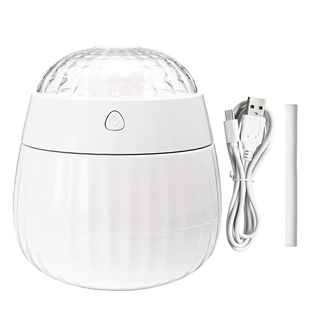 380ML Ultrasonic Humidifier Air Purifier Aroma Diffuser Room Nebulizer LED Lamp