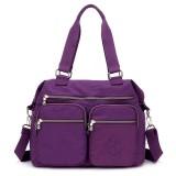 Nylon Large Capacity Lightweight Multi-pocket Crossbody Bag Handbag For Women