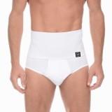 Mens High Waist Skinny Brief Breathable Elastic Butt Lifting Compression Shapewear