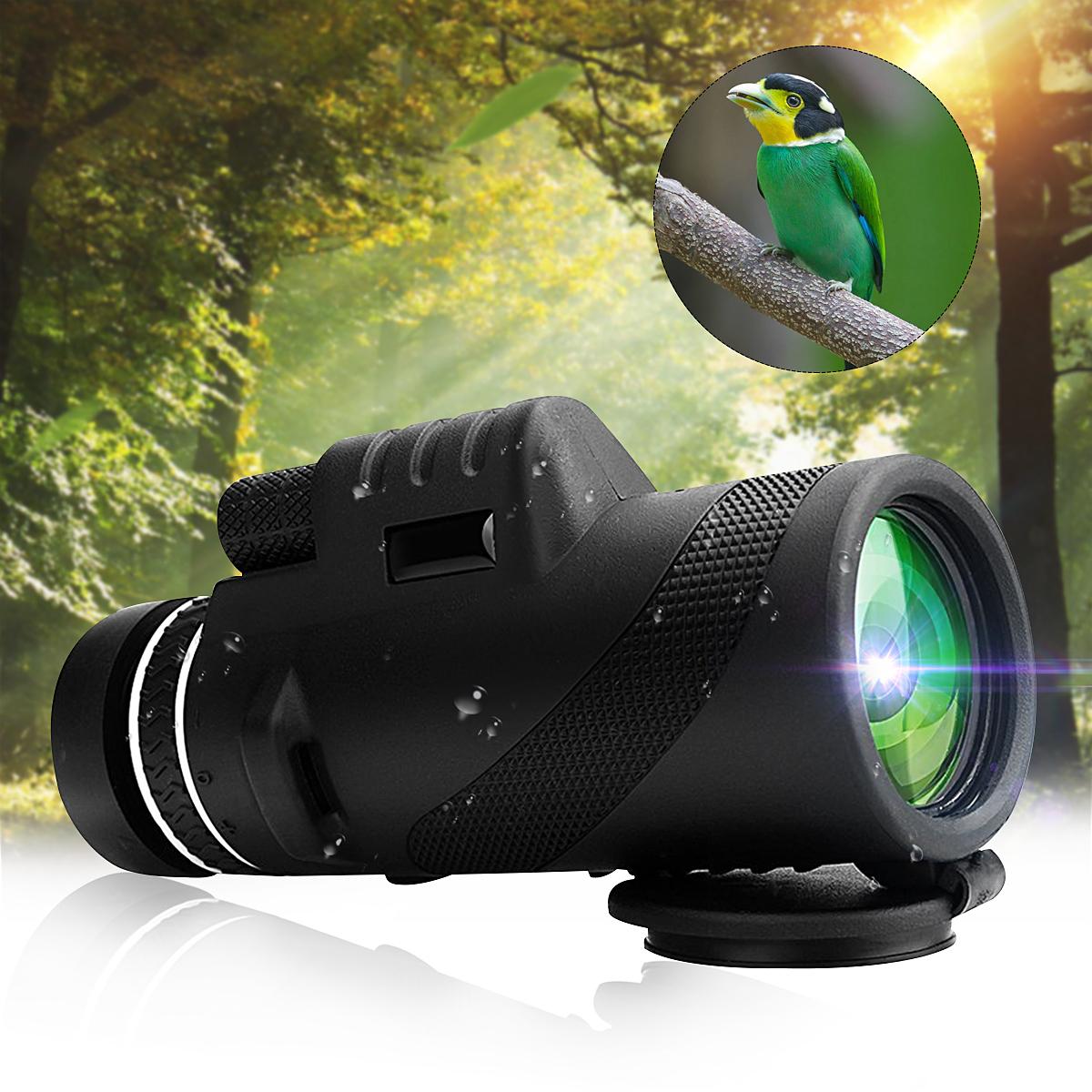 IPRee 40×60 Outdoor Portable Monocular HD Optic Day Night ...