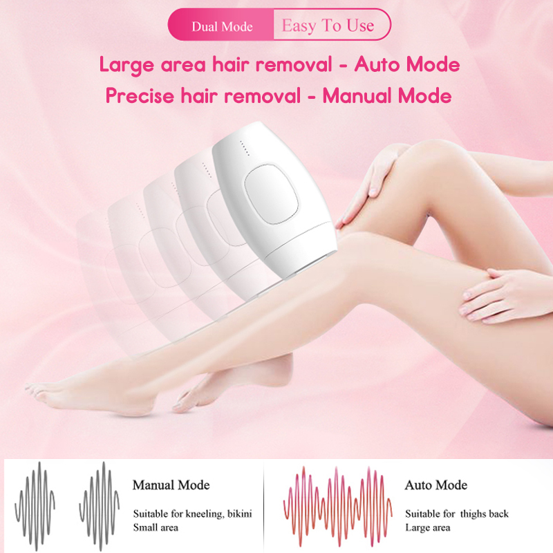 600000 Pulses Painless IPL Laser Epilator Full Body Hair Removal Armpit Bikini Leg Depilatory Kit