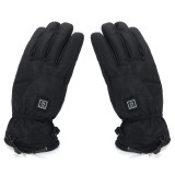 WARMSPACE 7.4V 3000mah Electrically Heated Gloves Motorcycle Winter Warmer Outdoor Skiing