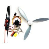 RC Airplane DIY Set Hobbywing Skywalker 30A ESC+1400KV 2212 Motor+3 Blade 8060 Propeller Power Combo