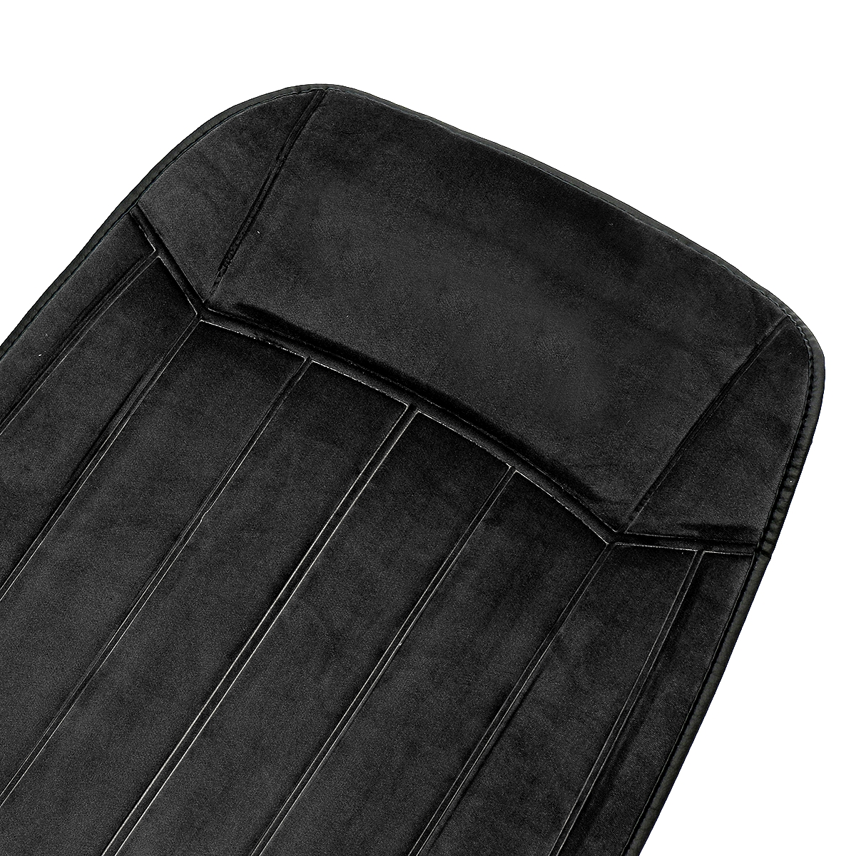 12V Electric Fleeced Car Heated Seat Cushion Cover Seat Heater Warmer Winter Household Mat