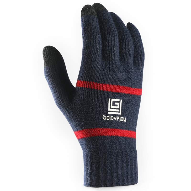 Unisex Winter Touch Screen Outdoor Riding Knit Warm