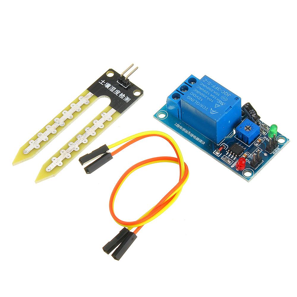 2//5//10PCS Soil Hygrometer Detection Module Moisture Sensor For arduino Smart car