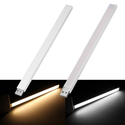 21CM USB 4.5W SMD5730 Touch Switch Stepless Dimming 21 LED Rigid Strip Light for PC Computer DC5V