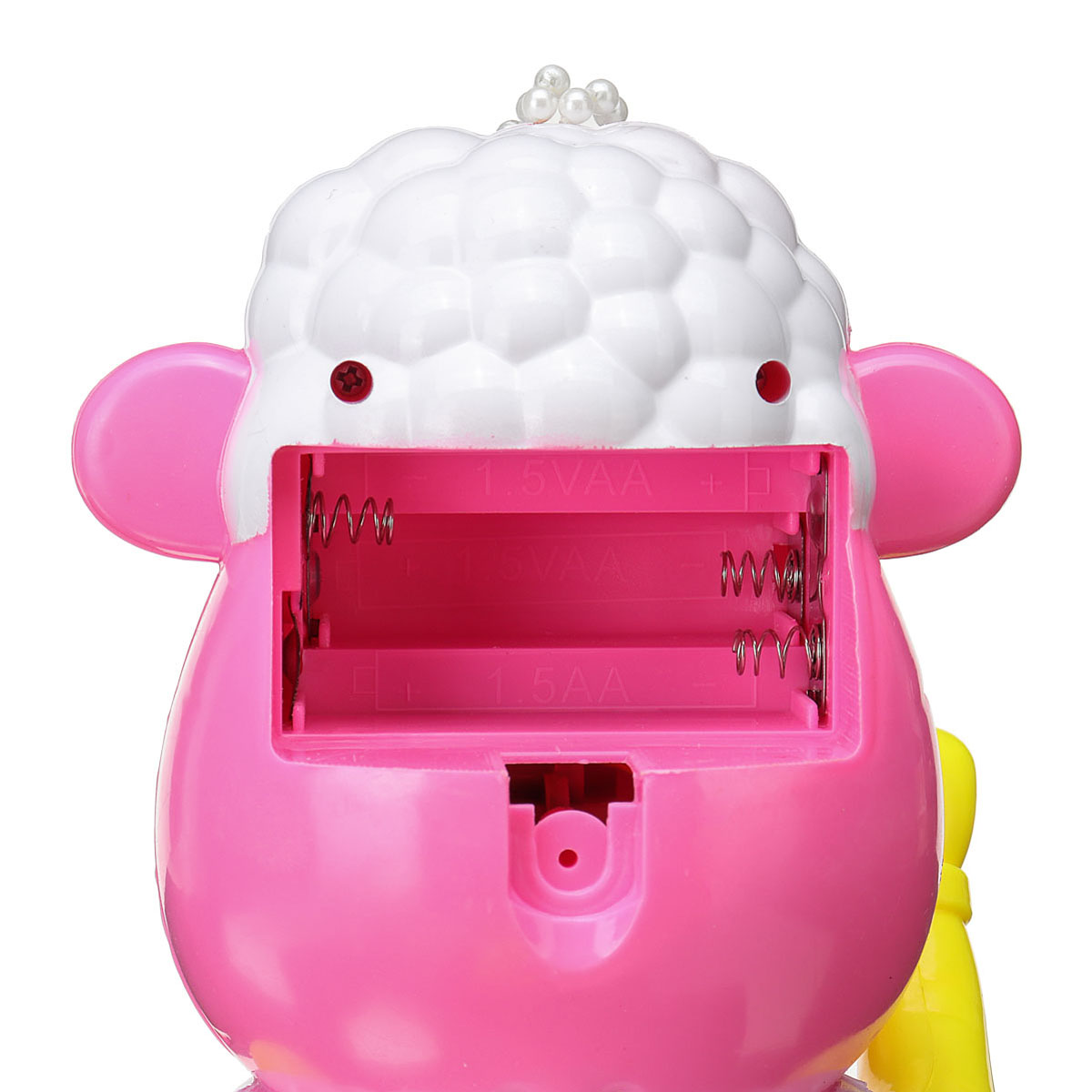Kids Electric Bubble Tub Sheep Music Toys Automatic Shower Machine Blower Maker