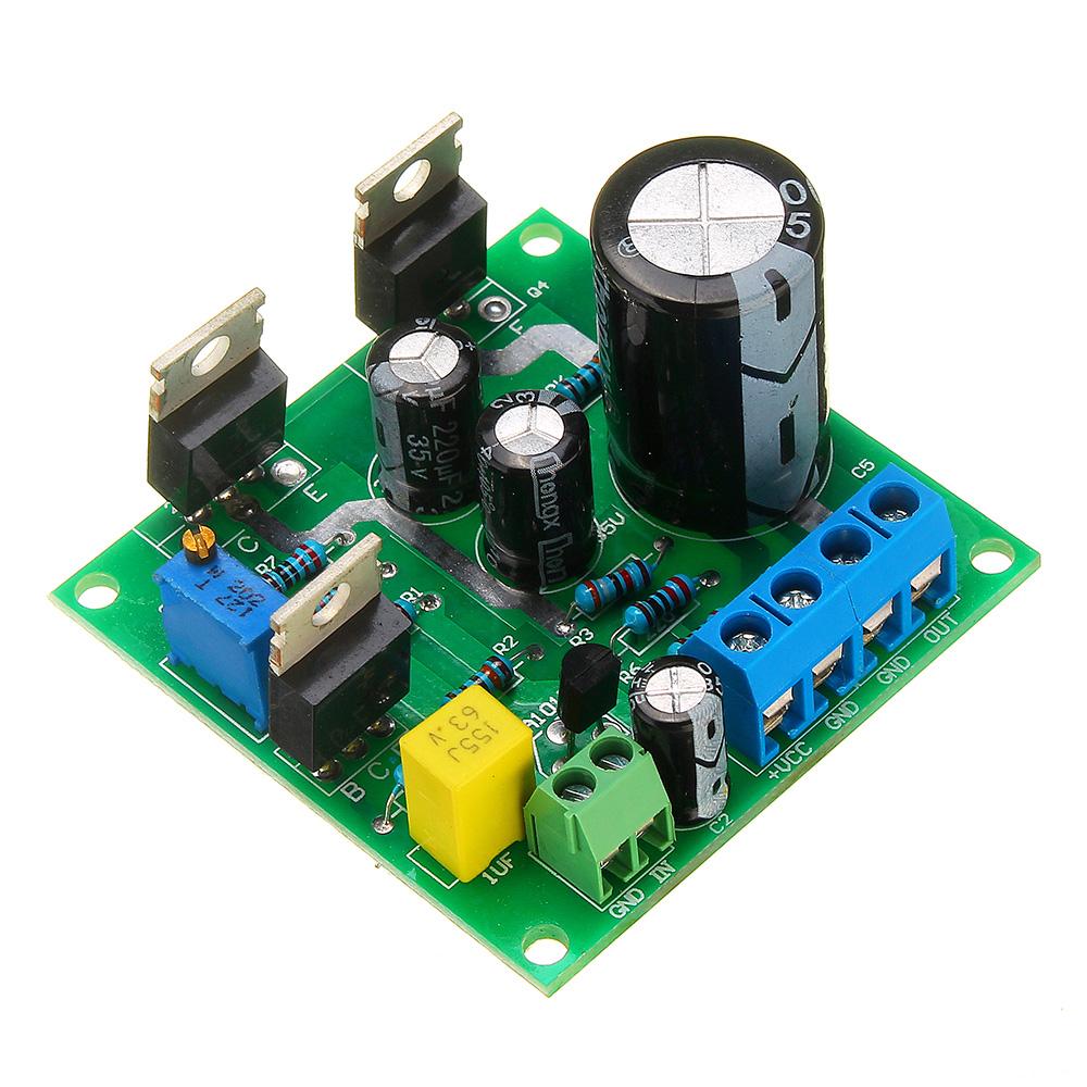 dc12v 24v mini 1969 tip41c mono channel amplifier board for arduino. Black Bedroom Furniture Sets. Home Design Ideas
