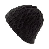 Men Winter Multi-purpose Thicken Knit Plush Beanie Cap Scarf Outdoor Earmuffs Ski Skullcap