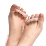 Silicone Gel Toe Separator Toe Straightener Corrector Cushions Hammer Toes Support Crest Pad Relief Pain and Pressure Bunions Overlapping