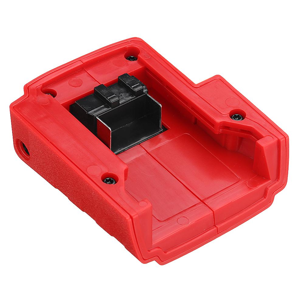 Power USB Charger Adaptor for Milwaukee 49-24-2371 M18 Switch Converter 15V-21V