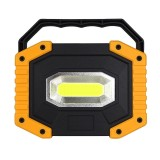 10W COB LED 750-1200LM Portable Rechargeable Camping Light 18650 Flashlight Battery Waterproof Emergency