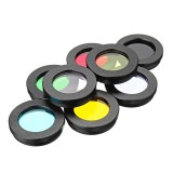 8Pcs/set 1.25inch Lens Filter Kit Nebula Filter Moon Sun Filter For Telescope Eyepiece Accessories