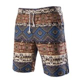 INCERUN Mens Hawaiian Style Beach Summer Sports Board Shorts Trunks