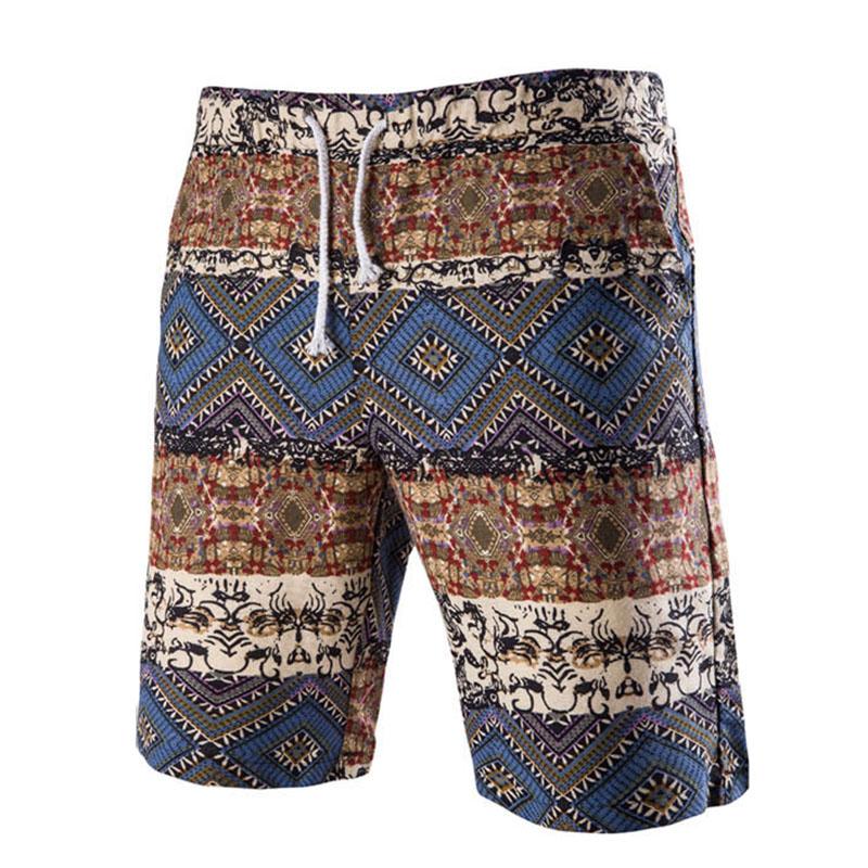 15e3644f76 INCERUN Mens Hawaiian Style Beach Summer Sports Board Shorts Trunks ...