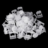 100pcs 1.5mm Tile Leveling System Plastic Spacers Tiling Tool Flooring Clips