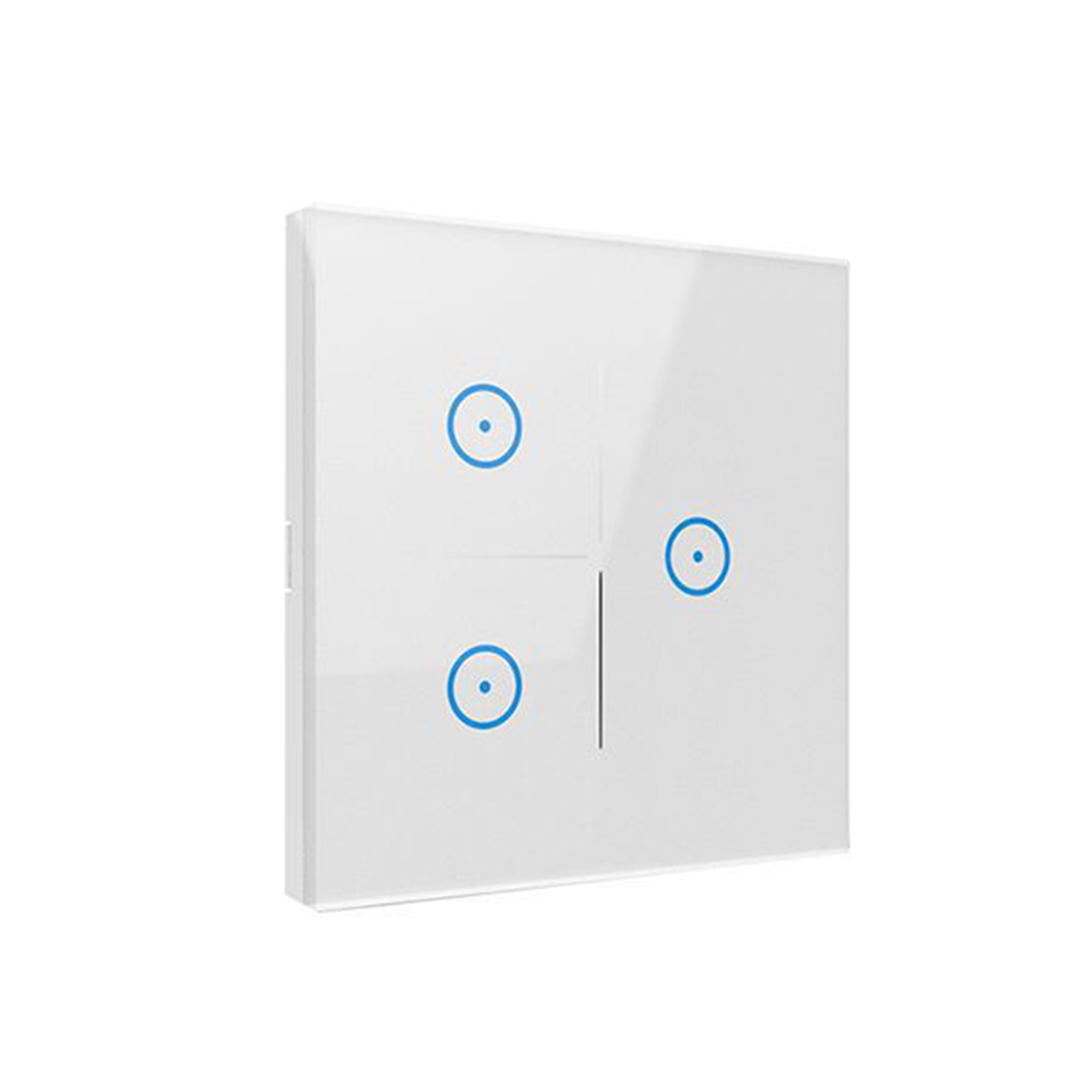 1/2/3 Gang Smart Home WiFi Touch Light Wall Switch Panel For Alexa Google  Home Assistant