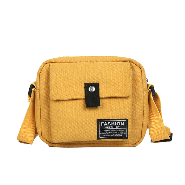 Women Canvas Hip-hop Crossbody Bag Shoulder Bag