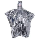 IPRee Outdoor Portable Emergency Poncho Disposable Foil Raincoat Waterproof Survival Rescue Blanket