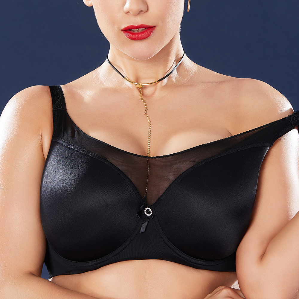 034399bfc6a74 Push Up Seamless Prevent Sagging Gather Plus Size Wire Free Cami Bra.  3e3d5d8d-3a52-415d-b809-076364b1a870.jpg ...